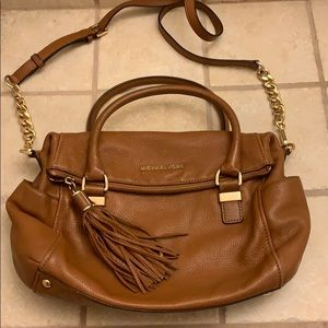 Brown Leather Michael Kors purse